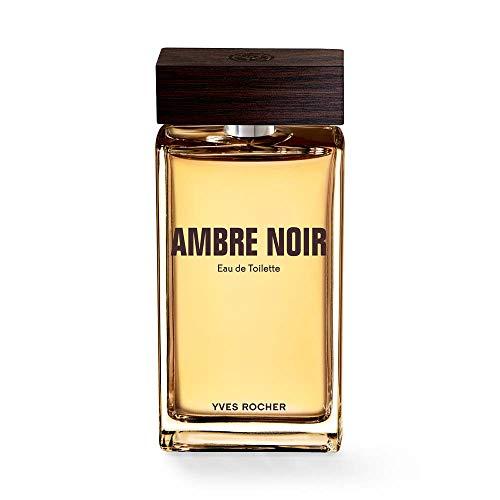 Yves Rocher AMBRE NOIR Eau de Toilette, Parfüm für Herren, sinnlich-eleganter Duft, Valentinstag Geschenkidee für Männer,1 x Zerstäuber 100 ml…