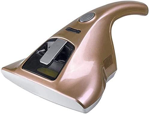 YYhkeby La eliminación Uso en el hogar Mite Instrumento Ultravioleta Cama Sofá Esterilización Mite portátil de eliminación de Aspirador de Mano esterilización UV Aspiradora Jialele (Color : Gold)