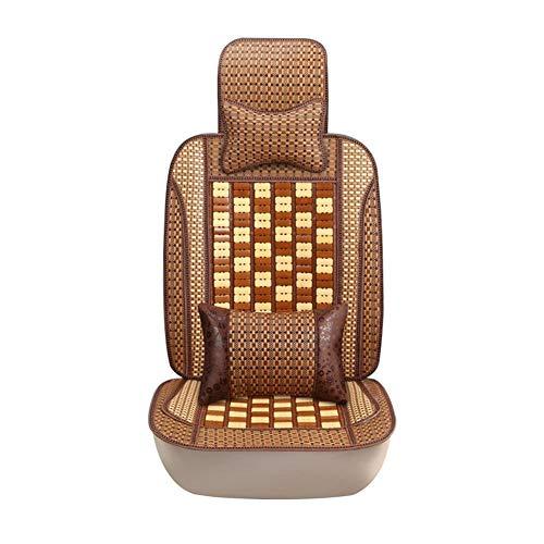 Sillas de coche Cojín del asiento del automóvil Material de bambú Buena transpirabilidad y comodidad for los cojines del asiento del automóvil Asiento del conductor Accesorios del interior del automóv