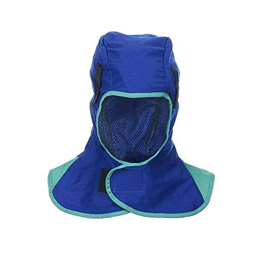 CSPone Capucha de Soldadura Completo Protectora Protección de Cabeza Respirable Adecuado para Todos los Tipos de Casco de Soldadura