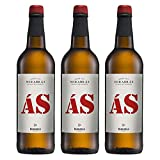 Vino Blanco As de Mirabras de 75 cl - D.O. Tierra de Cadiz - Bodegas Barbadillo (Pack de 3 botellas)