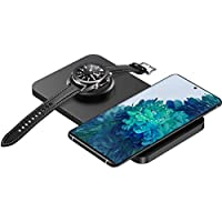 Seneo 2 in 1 Wireless Charging Pad for Galaxy Watch