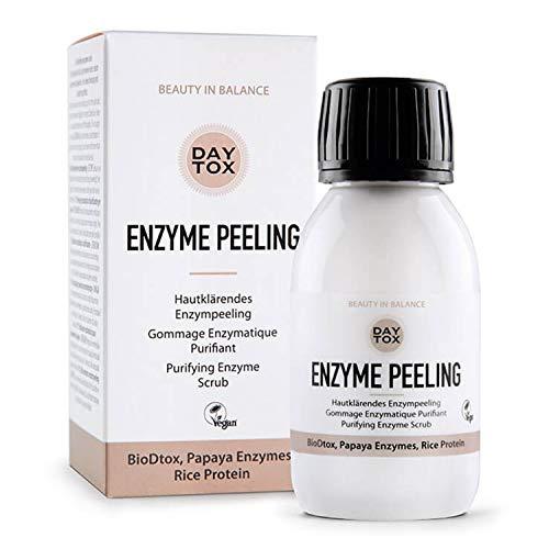 DAYTOX - Enzyme Peeling - Hautklärendes Enzymepeeling für das Gesicht - Vegan, ohne Farbstoffe,...