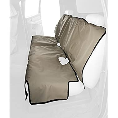 Canine Covers Econo 2nd Row Semi-Custom Fit Seat Protector - Polycotton (Taupe)