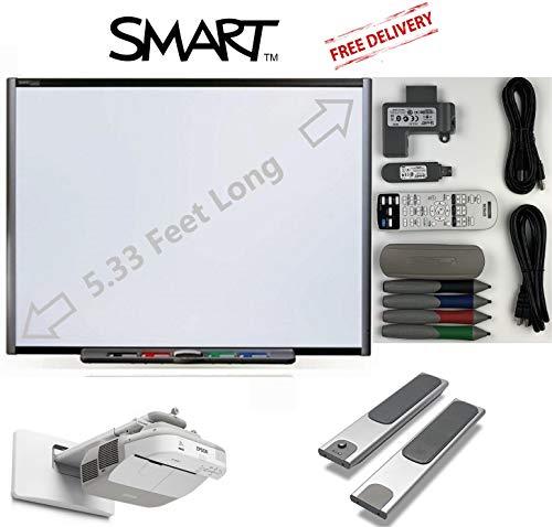 Interactive Smart Board SB660 /& Smart UF70W Short throw projector