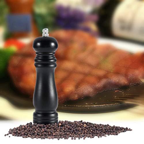 SHIJING Salz- und Pfeffermühle aus Holz zum Kochen von Fleisch und Restaurant mit einem neuen Hotspot für die Küche zu Hause