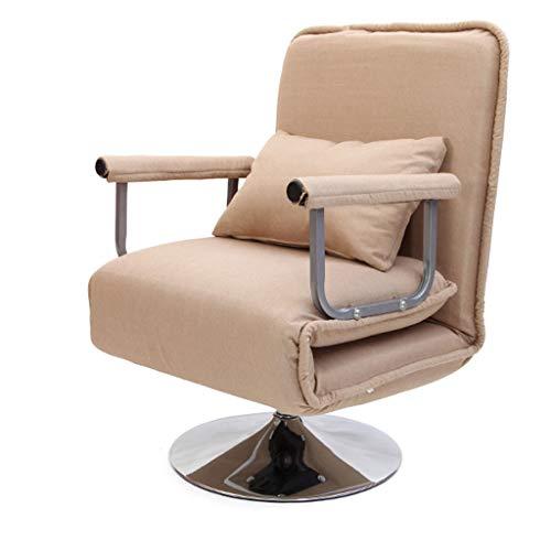 Hjd-Stuhl Büro Klappstuhl Mittagspause Recliner Klappstuhl Siesta Chair Home Reclining Einfache Bett Sofa Chair Single (Color : G, Größe : 190cm)