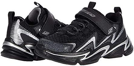 Skechers Kids Boy's WAVETRONIC Sneaker, Black/Silver, 9 Toddler