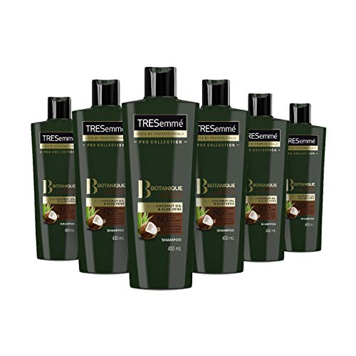 Tresemme Botanique Nourish and Replenish Shampoo, 6 x 400 ml