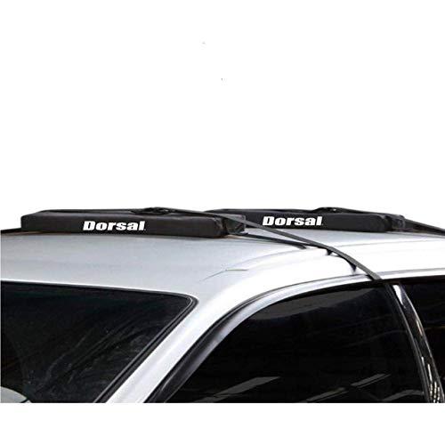 DORSAL Wrap-Rax Sup Wide Surfboard Longboard Soft Racks Roof Pads Straps Long Kayaks 28 Inch