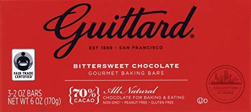 Guittard, Bar Chocolate Baking Bittersweet, 2 Ounce, 3 Pack