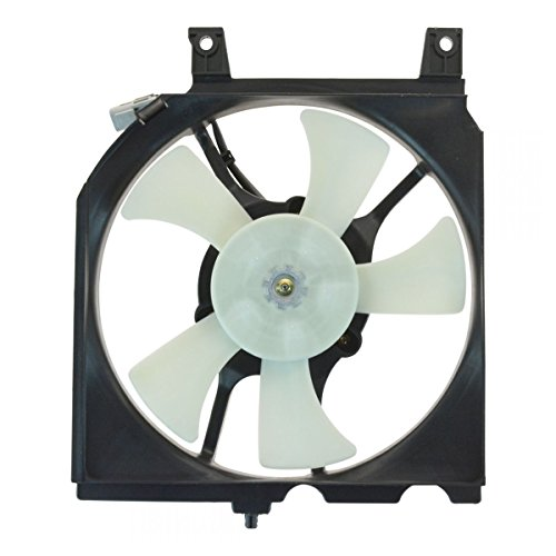 Price comparison product image AC A / C Condenser Radiator Cooling Fan Assembly w / Motor for 200SX Sentra
