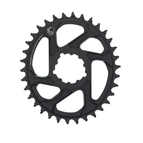 Sram Kettenblatt X-Sync Eagle oval 34T, Direct Mount, Aluminium, schwarz 12-Fach, 3mm Offset, 11.6218.038.020, Standard