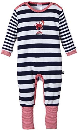 Schiesser AG Schiesser Baby - Jungen Schlafanzug mit Vario Fuß 145903, Gr. 62, Blau (dunkelBlau 803)