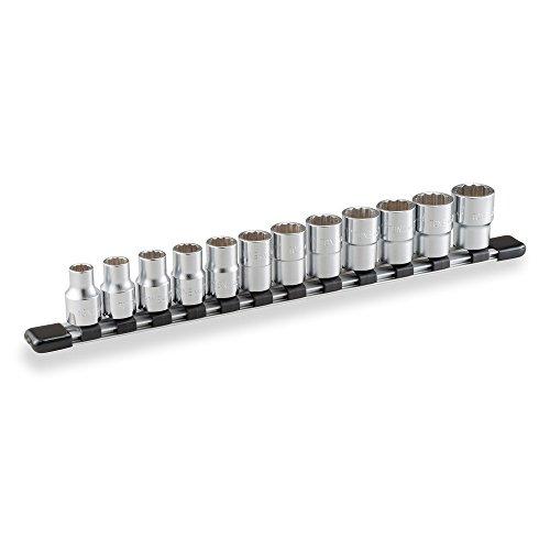 """トネ(TONE) ソケットセット(12角・ホルダー付) HD412 差込角12.7mm(1/2"""") 内容12点"""