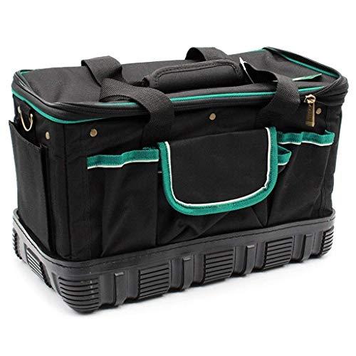 YLB Caja de herramientas portátil Organizador Cajas de herramientas familiares multifuncionales para herramientas de maleta Cofres conjuntos de herramientas de electricista resistente al desgaste de l