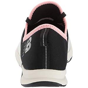 New Balance Women's FuelCore Nergize V1 Sneaker, Sea Salt/Black/Guava Glo, 5 W US