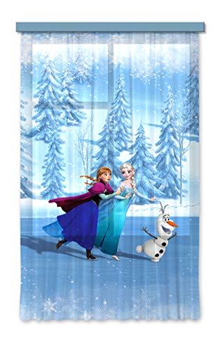 Gardine/Vorhang FCS L 7105 Disney, Frozen, 140 x 245 cm, 1-teilig