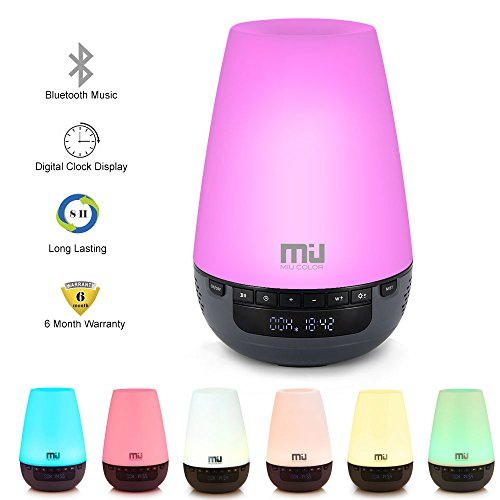 Check Out This Bluetooth Music Essential Oil Diffuser 300ml Long Time Aromatherapy Humidifier with D...