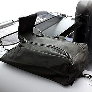 Belly Boot Taschen mit Reißverschlüssen