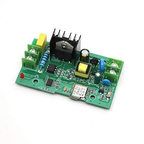 Qiyue Bao Zhuang Smart Home Einzel 40A WiFi Remote-Triac-Schalter Telefon APP Fernfern Timing-On Smart Modulplatine Leiterplatte (Farbe : Triac 40A)