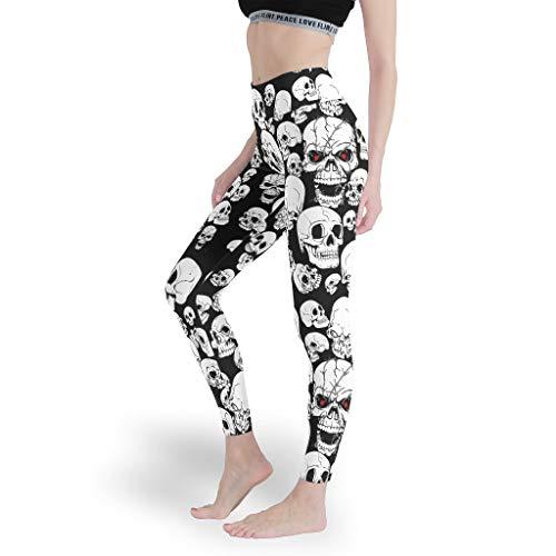 Mädchen Basic Solid Leggings Weich Yoga Hosen Dehnbar Capris Tights für Frauen White s