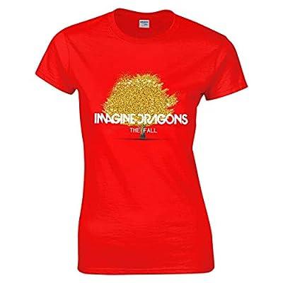 Imagine-Dragons Camiseta manga corta