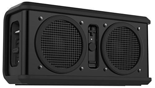 Skullcandy Air Raid Bluetooth Wasserfester Robuster Wireless Drahtloser Kabelloser Tragbarer Wiederaufladbarer Lautsprecher - Schwarz