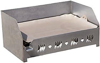 Dieticook Plancha - Feuille de Cuisson Anti-adherente (Taille de plancha Standard 60x40cm) - Poignees integrees - Lavable ...