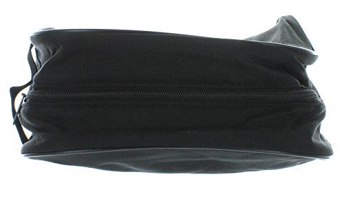 Black Gillette Men's Travel Bag Toiletry Shave Case Bag Dopp Kit