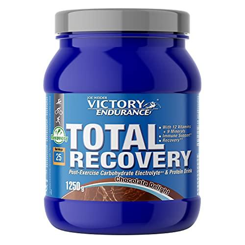 Victory Endurance Total Recovery Chocolate. Maximiza la recuperación después del entrenamiento. Enriquecido con electrolitos y vitaminas. Sabor Chocolate (1250 g)