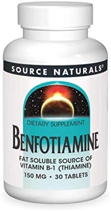 Source Naturals Benfotiamine 150mg, 120 Tablets