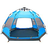 Beneyond Outdoor 3-4People Double Hexagonal Beach Automatic Tent,Rainproof Camping/Hiking Tent,Beach Tent