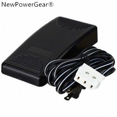 Best Prices! NewPowerGear Foot Control Pedal Replacement For Janome/NewHome 7000, 7500, Jem Gold 660...