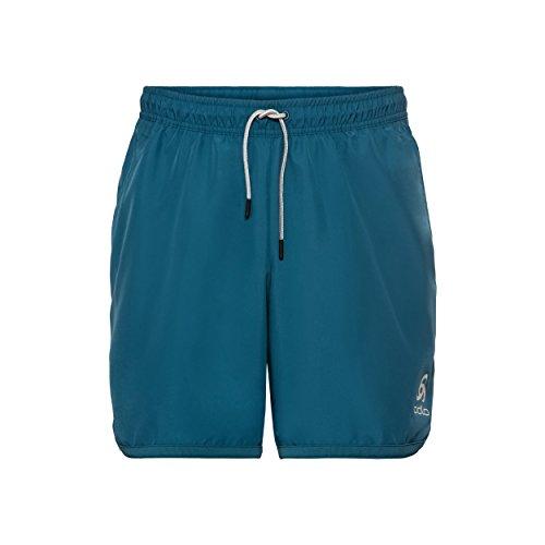 Odlo 360332 Short Homme Blue Coral FR : L (Taille Fabricant : L)