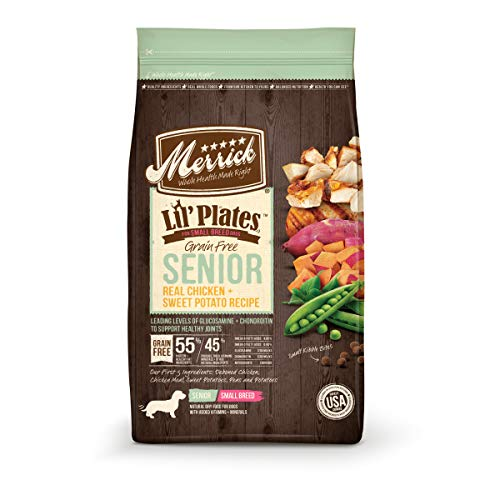 Merrick Lil' Plates Grain Free Small Breed Dry Dog...