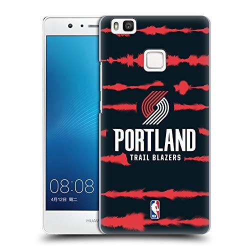 Head Case Designs Oficial NBA Impresión de Rayas Acuarela Portland Blazers 3 Carcasa rígida Compatible con Huawei P9 Lite / G9 Lite