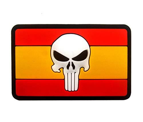 Ohrong - Parche de PVC con bandera de España, diseño de bandera...