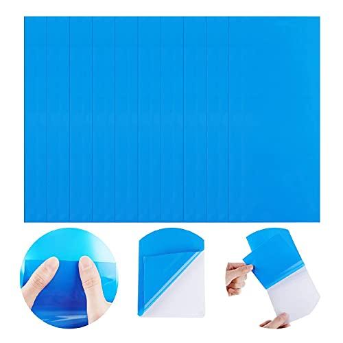 Snlaevx Patches für Pool, Flicken Wasserfeste Selbstklebende Reparaturflicken für Pool Vinyl Kayak Rectangle Selbstklebende PVC Reparatur Patch Aufkleber (10 Stück)