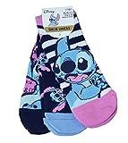 Disney Lilo und Stitch Damen Schuheinlagen, knöchellang, 3er-Pack, Größe 3er-Pack