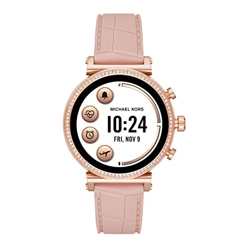 Michael Kors Damen Analog Quarz Uhr Smartwatch MKT5068