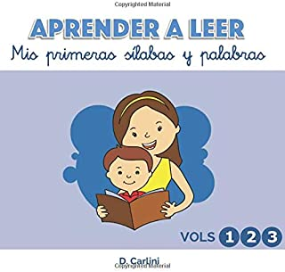 Aprender a leer. Mis primeras sílabas y palabras (Spanish Edition)