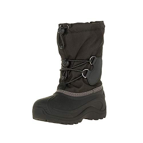 Kamik Southpole4 buty zimowe dla chłopców, Czarny - 28/29 EU