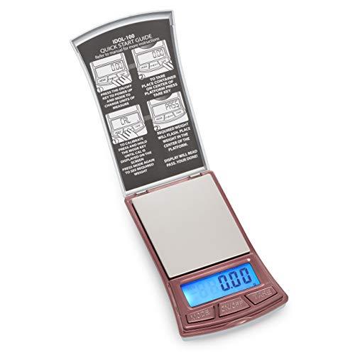 American Weigh Scale Idol Series Digital Pocket Weigh Scale, 100g x 0.01g (IDOL-100)