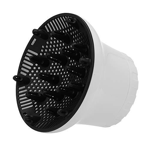 Anself Difusor Ajustable Universal para secadores de pelo con boquilla de diámetro 1.57-1.97 inches, para pelo rizado u ondulado, Hair Dryer Diffuser
