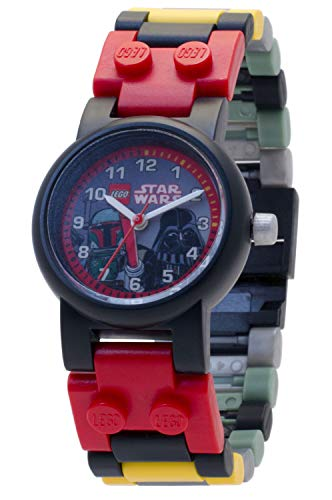 Reloj modificable infantil Boba Fett Darth Vader LEGO