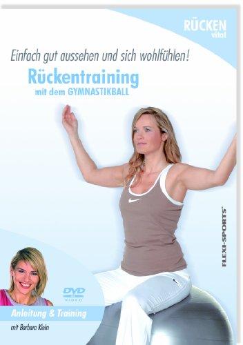 FLEXI-SPORTS DVD Rückentraining mit dem Gymnastikball