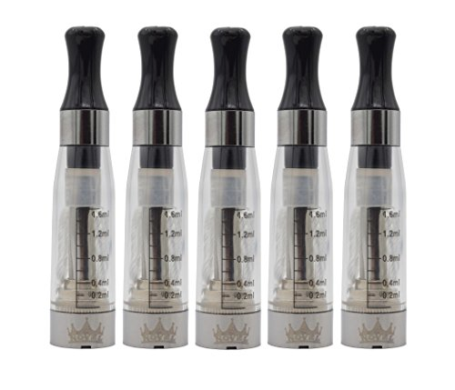 NOVEL Cigarrillo Electronico 5X CE4 Clearomizer Atomizador Electrónico Pipa Shisha |Sin nicotina