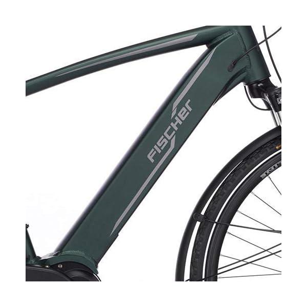 41qbIc9k8FL. SS600  - FISCHER Herren - E-Bike Trekking VIATOR 4.0i, schwarz oder grün matt, 28 Zoll, RH 50 cm, Mittelmotor 50 Nm, 48 V Akku im Rahmen
