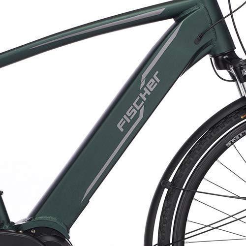 FISCHER Herren – E-Bike Trekking VIATOR 4.0i (2020), grün matt, 28 Zoll, RH 50 cm, Mittelmotor 50 Nm, 48 Volt Akku im Rahmen Bild 2*